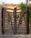 Puerta española Fotografía de archivo