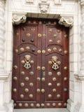 Puerta española Foto de archivo libre de regalías