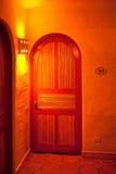 Puerta española interior fotos de archivo libres de regalías
