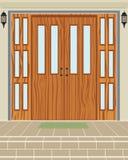 Puerta exterior de la casa Foto de archivo libre de regalías