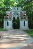 Puerta figurada (de la uva) en Tsaritsyno. Moscú Foto de archivo