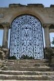 Puerta forjada Foto de archivo libre de regalías