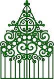 Puerta gótica ilustración del vector