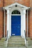 Puerta georgiana inglesa Imagen de archivo libre de regalías