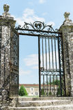 Puerta grande del hierro labrado fotos de archivo libres de regalías
