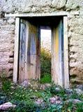 Puerta hacia el pasado stock image