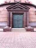 Puerta hermosa del metal Fotos de archivo