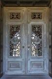 Puerta hermosa en iglesia de la misión en Stanford University en Calif Fotografía de archivo libre de regalías