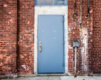 Puerta industrial Foto de archivo