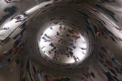 Puerta interior de la nube de Chicago Imagen de archivo