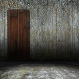 Puerta interior vieja Foto de archivo libre de regalías