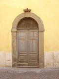 Puerta italiana Imagen de archivo libre de regalías