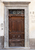 Puerta italiana Foto de archivo libre de regalías