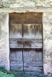 Puerta italiana Fotos de archivo