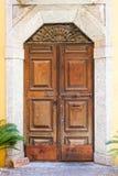 Puerta italiana Imágenes de archivo libres de regalías