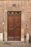 Puerta italiana histórica Foto de archivo libre de regalías