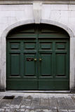 Puerta italiana vieja. Fotos de archivo