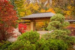 Puerta japonesa Fotos de archivo