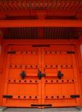 Puerta japonesa Fotos de archivo libres de regalías