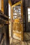 Puerta a la casa del alzamiento Imagen de archivo libre de regalías