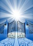 Puerta a la luz Fotografía de archivo