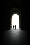 Puerta a la luz Fotos de archivo libres de regalías