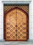 Puerta (la mezquita de Kiptchak en Turkmenistan) Fotos de archivo libres de regalías