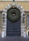 Puerta a la Navidad Imagen de archivo