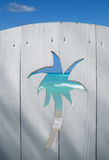Puerta a la playa Imagen de archivo