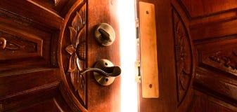 Puerta ligera Foto de archivo