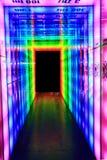 puerta ligera del arco iris Foto de archivo libre de regalías