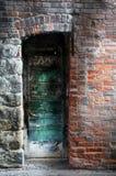 Puerta mística Foto de archivo libre de regalías