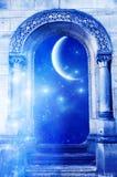 Puerta mística imágenes de archivo libres de regalías