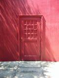 Puerta magenta Foto de archivo