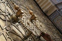 Puerta marroquí #1 imagen de archivo libre de regalías