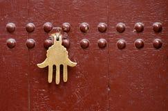 Puerta marroquí fotos de archivo libres de regalías