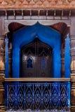 Puerta marroquí Fotografía de archivo