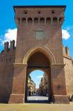 Puerta medieval fotografía de archivo