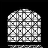 Puerta medieval del modelo oriental de la ciudadela en Baku Azerbaijan libre illustration