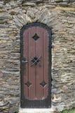 Puerta medieval a la torre, Burgruine Elsterberg, Freistaat Sajonia Fotos de archivo libres de regalías