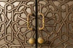 Puerta modelada Imagenes de archivo