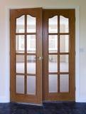 Puerta moderna Foto de archivo