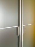 Puerta moderna de cristal Imágenes de archivo libres de regalías