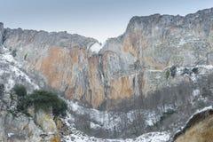 Puerta mountain near Viguera, La Rioja, Spain Stock Photo