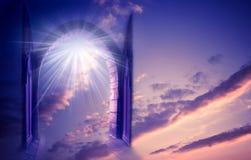 Puerta mística Fotos de archivo libres de regalías