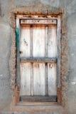 Puerta muy vieja Foto de archivo libre de regalías