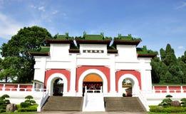 Puerta oriental china Fotografía de archivo libre de regalías
