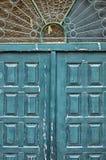 Puerta ornamental Foto de archivo libre de regalías