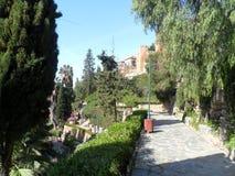 PUERTA OSCURA Gardens-Málaga Stock Images