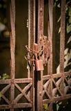 Puerta oxidada Fotografía de archivo libre de regalías